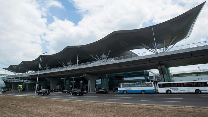 The building of the new Terminal D at Kiev Boryspil international airport (RIA Novosti / Andrey Voloshin)