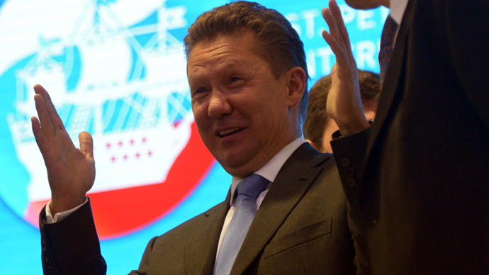 Alexey Miller.(RIA Novosti / Grigory Sysoyev)