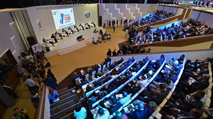 St. Petersburg hosts Global CEO Summit (RIA Novosti / Vladimir Astapkovich)
