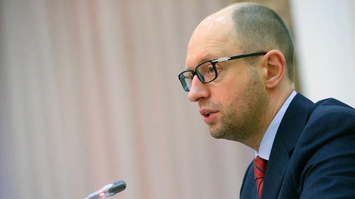 Arseny Yatsenyuk (Reuters / Andrew Kravchenko / Pool)