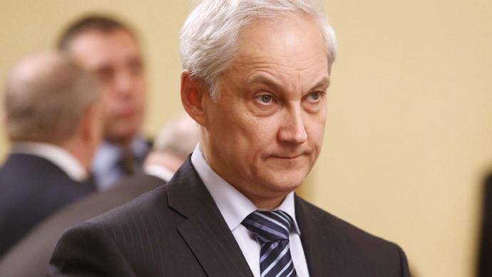 Andrei Belousov (RIA Novosti / Dmitry Astakhov)