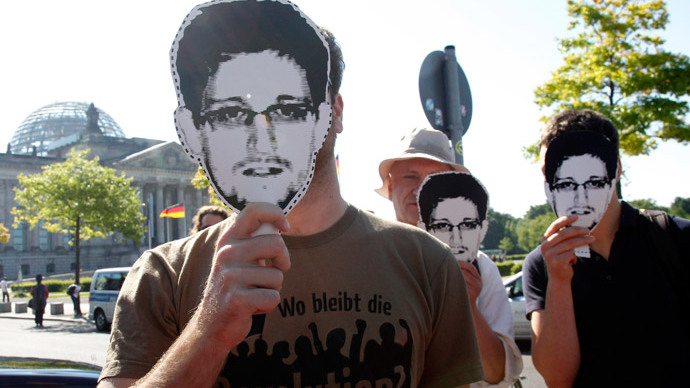 Edward Snowden.(AFP Photo / Channel 4)
