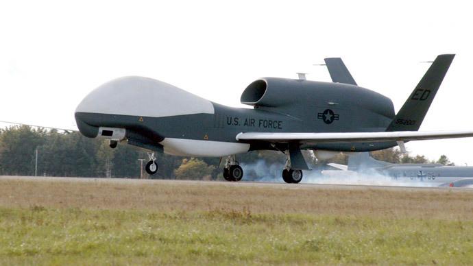 Global Hawk Unmanned Aerial Vehicle (AFP Photo / US Air Force)