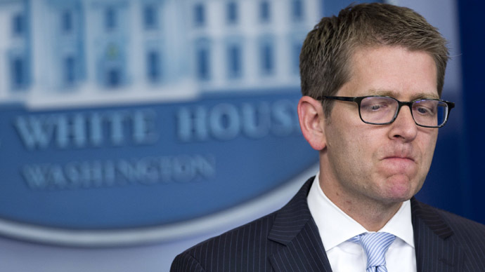 White House Press Secretary Jay Carney (AFP Photo/Saul Loeb)