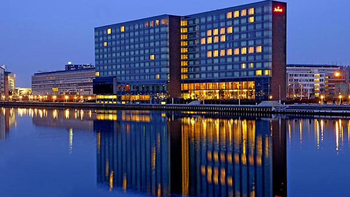 Marriott Copenhagen.(Photo from marriott.com)