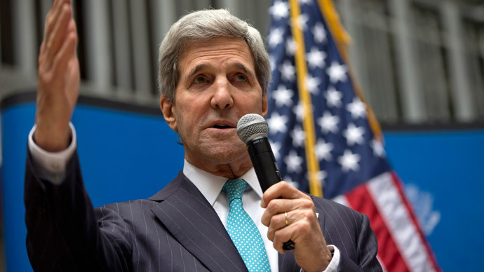 US Secretary of State John Kerry.(Reuters / Carolyn Kaster)