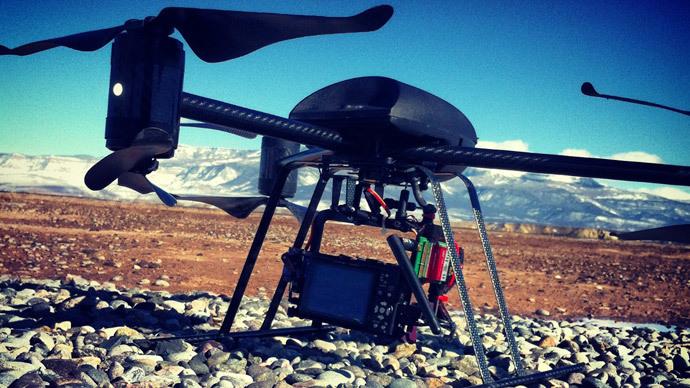 A Draganflyer X6.(Reuters / Chris Francescani)