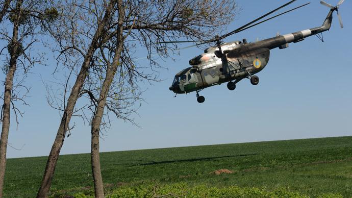 Mi-8.(RIA Novosti / Mikhail Voskresenskiy)