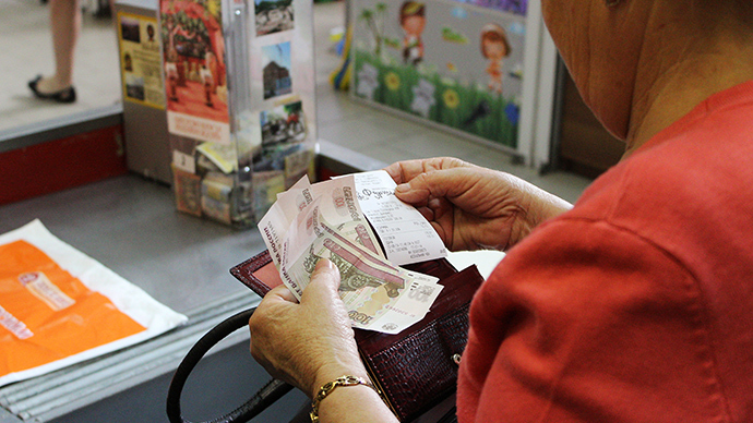 Simferopol accepts Russian rubles as payment (RIA Novosti / Andrey Iglov)