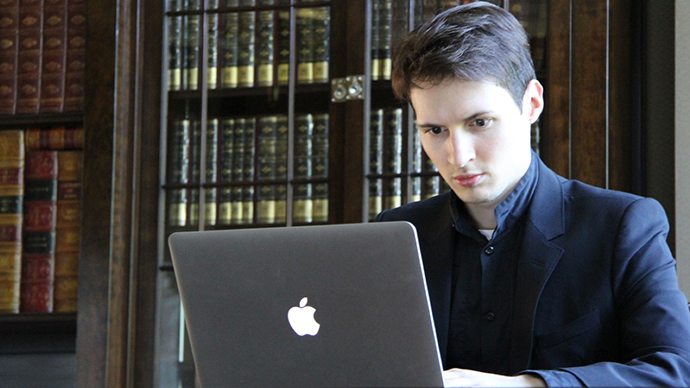 Founder of VKontakte Social Network Pavel Durov (Image from vk.com)