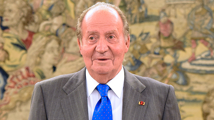 Spain's King Juan Carlos (AFP Photo / Gerard Julien)