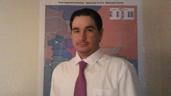 Scott Fistler (image from http://teapartycheer.com/)