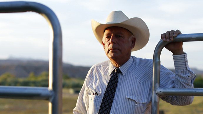 Rancher Cliven Bundy (Reuters/Mike Blake)