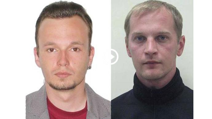 Andrey Sushenkov and Anton Malyshev (Photo courtesy of tvzvezda.ru)
