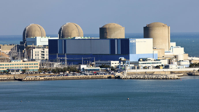 The Kori nuclear power plant in Busan, southeast of Seoul (Reuters/Kori Nuclear Power Plant)