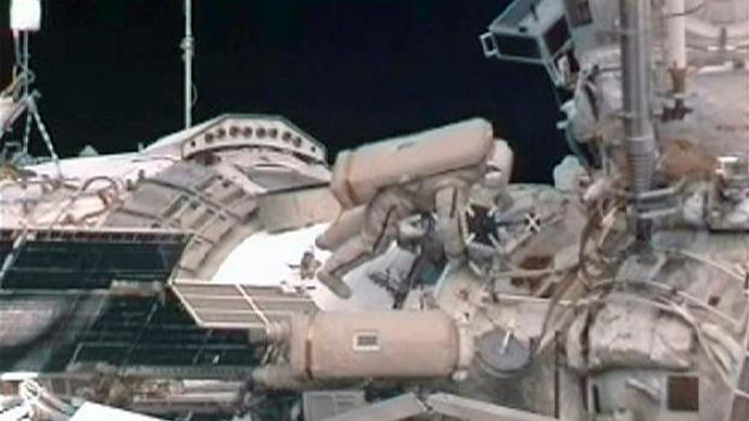 Reuters / NASA TV