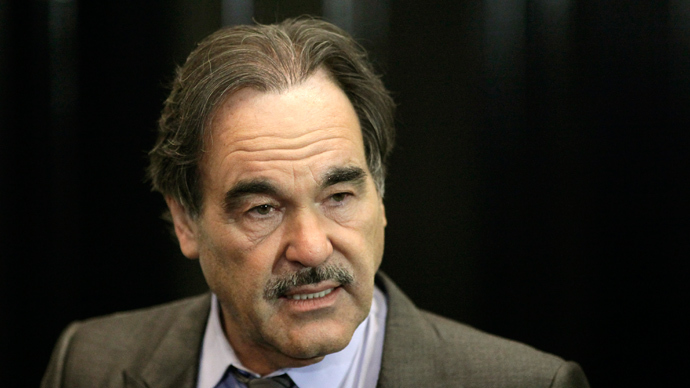 U.S. Director Oliver Stone (Reuters / Thomas Peter)