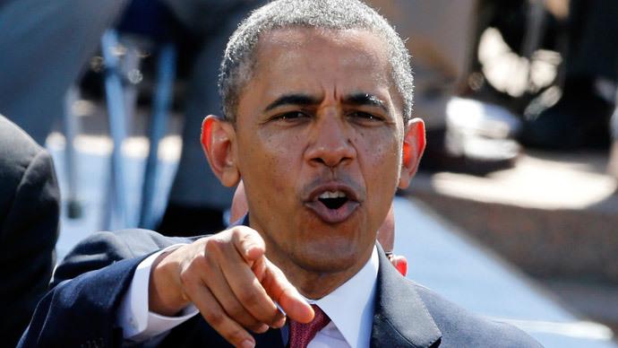 U.S. President Barack Obama.(Reuters / Pascal Rossignol )