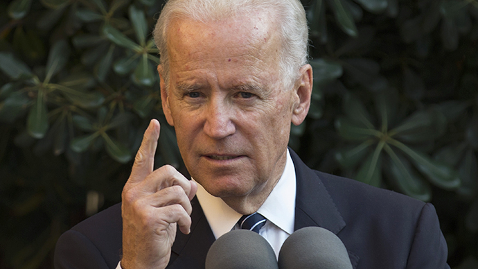 US Vice President Joe Biden (AFP Photo / Andrew Caballero-Reynolds)