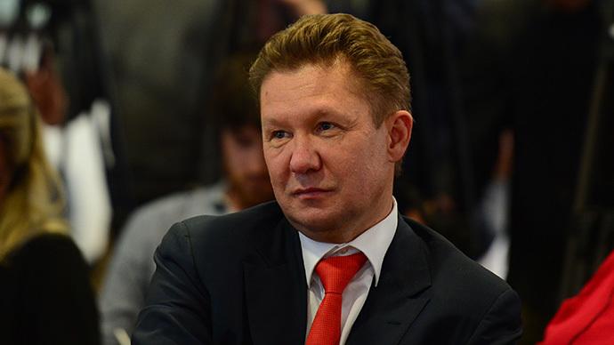 Gazprom CEO Aleksey Miller (AFP Photo / John Macdougall)