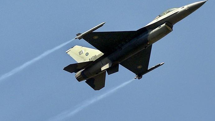A Pakistani Air Force F16 fighter jet (AFP Photo / Jewel Samad)