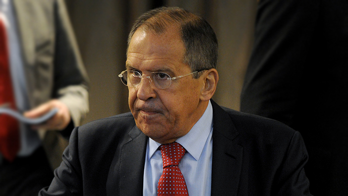 Russian Foreign Minister Sergei Lavrov (AFP Photo / Olga Maltseva)