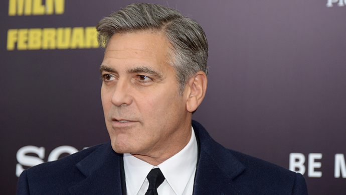 George Clooney (AFP Photo /  Michael Loccisano)