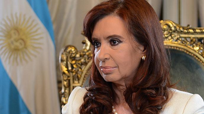 Argentina's President Cristina Fernandez de Kirchner (Reuters / Argentine Presidency)