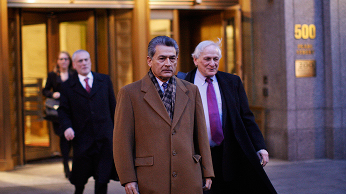 Former McKinsey chief and ex-Goldman Sachs director Rajat Gupta (C) (Reuters / Eduardo Munoz)