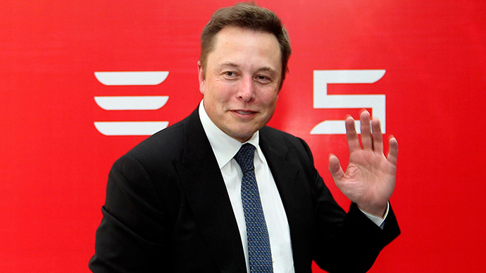 Elon Musk, CEO of Tesla Motors (Reuters / STR)