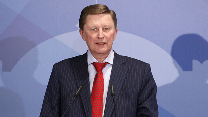 Sergei Ivanov, Chief of Staff of the Presidential Administration (Reuters / Sergei Karpukhin)