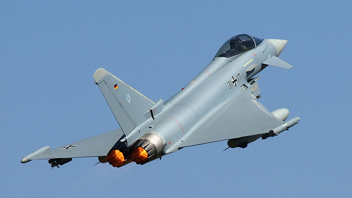 Eurofighter jet (Image from wikipedia.org)