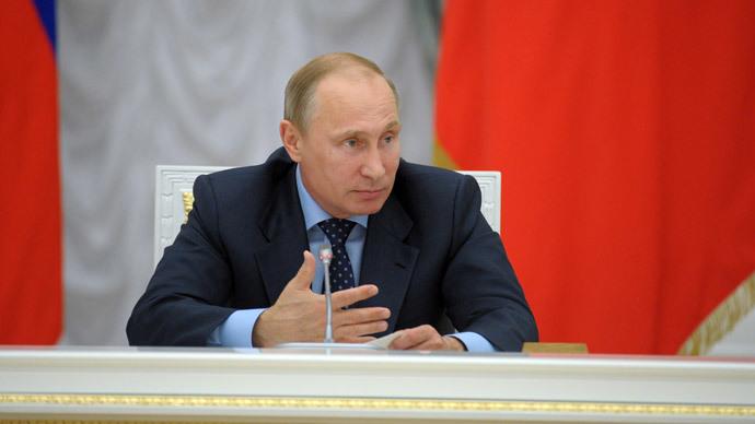 Russian President Vladimir Putin (RIA Novosti / Alexei Druzhinin)