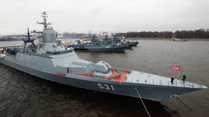 The Soobrazitelny head corvette (RIA Novosti / Alexei Danichev)