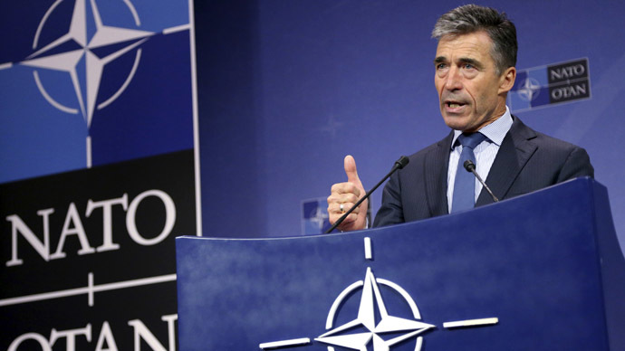 NATO Secretary General Anders Fogh Rasmussen (Reuters/Francois Lenoir)
