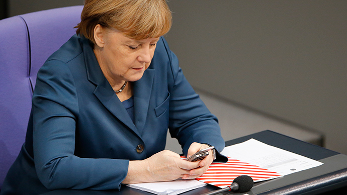 German Chancellor Angela Merkel (Reuters / Fabrizio Bensch)
