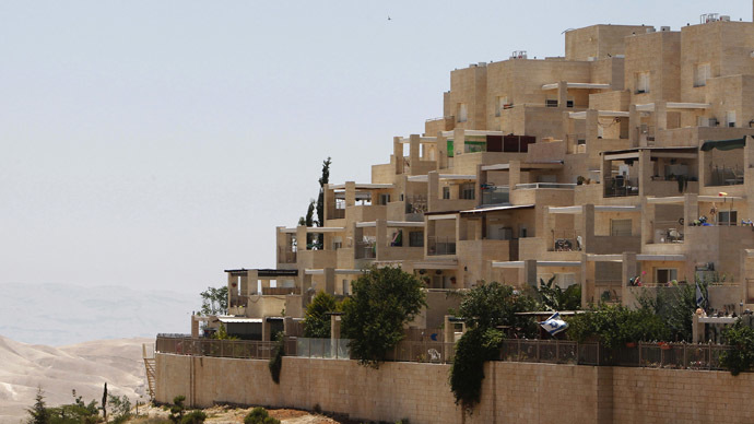 Apartments are seen in the West Bank Jewish settlement of Maale Adumim near Jerusalem (Reuters/Ronen Zvulun)