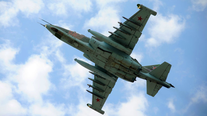 A Sukhoi Su-25 fighter jet (RIA Novosti/Lesya Polyakova)
