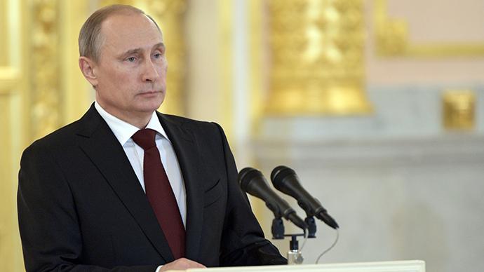 Russian President Vladimir Putin (RIA Novosti)