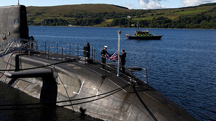 HMS Astute (Reuters / David Moir)
