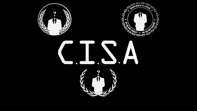 Screenshot Taken from 'Anonymous: C.I.S.A' video uploaded June 30, 2014.
