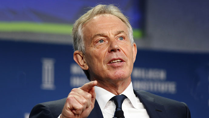 Former British Prime Minister Tony Blair (Reuters / Lucy Nicholson)