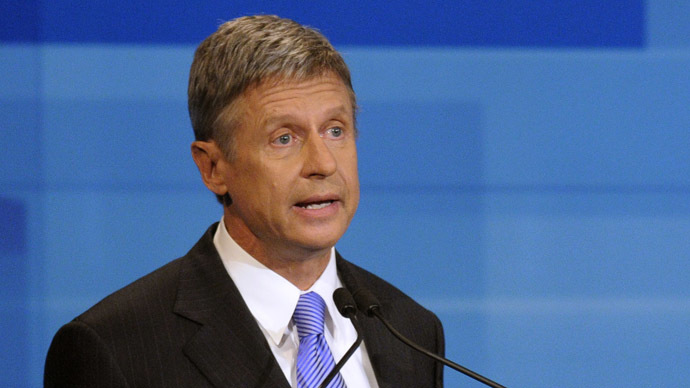 Gary Johnson (Reuters/Phelan M. Ebenhack)
