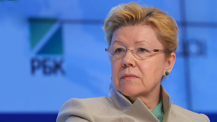 Yelena Mizulina, chairman of the Russian State Duma Committee on Family, Women and Children (RIA Novosti / Vladimir Trefilov)