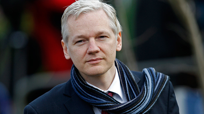 Julian Assange  (Reuters / Stefan Wermuth)