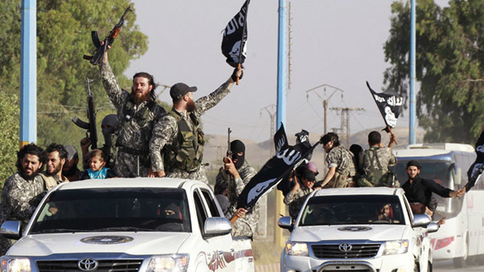 Fighters of the Islamic State of Iraq and the Levant (ISIL) (Reuters)