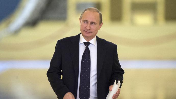 Russian President Vladimir Putin (RIA Novosti/Sergey Guneev)
