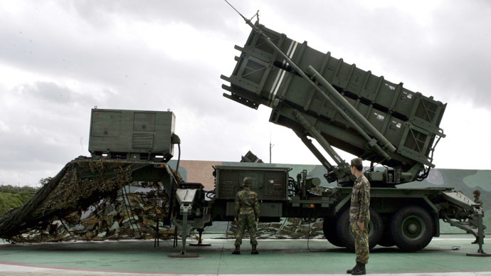 Patriot Advanced Capability-2 anti-missile launcher (Reuters/Richard Chung)