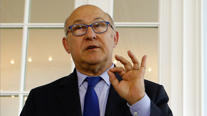 French Finance Minister Michel Sapin (Reuters/Denis Balibouse)