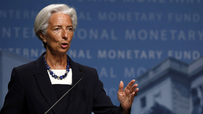 International Monetary Fund (IMF) Managing Director Christine Lagarde (Reuters/Gary Cameron)